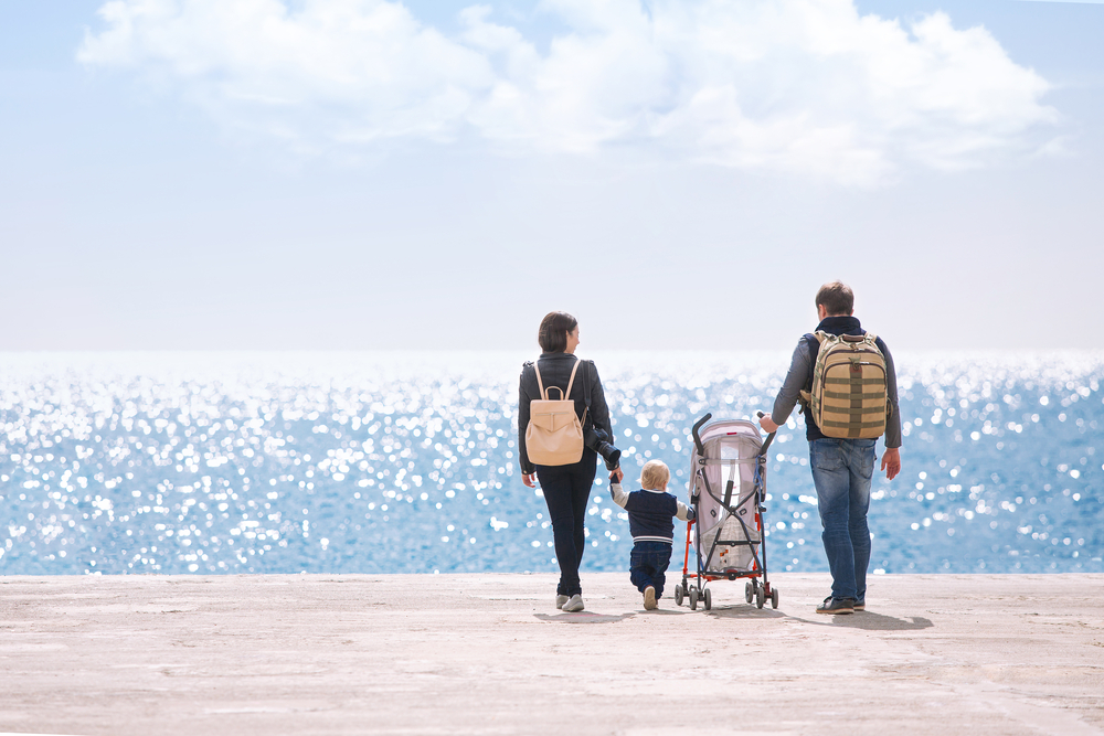 Travel with Toddlers - bring the stroller!